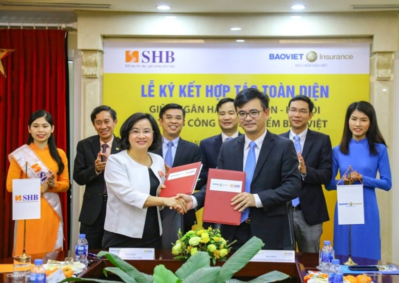 """Bảo hiểm Bảo Việt """"bắt tay"""" với SHB - ảnh 1"""