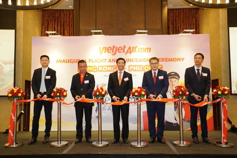 VietJet: Khai trương đường bay thẳng Phú Quốc - Hồng Kông   - ảnh 1