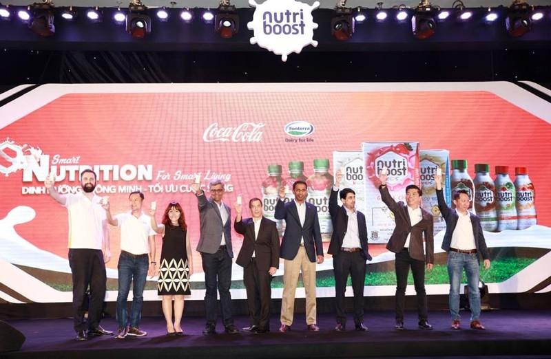 Coca-Cola và Fonterra ra mắt bộ 3 sản phẩm sữa nước Nutriboost - ảnh 1
