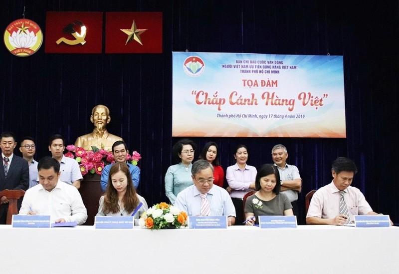 Hỗ trợ hàng Việt, VinCommerce nhận bằng khen từ TP.HCM  - ảnh 2
