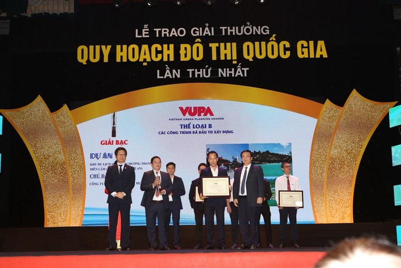 Tập đoàn Mường Thanh nhận giải Quy hoạch Đô thị Quốc gia       - ảnh 1