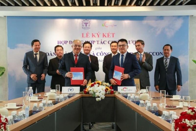 Tập đoàn Tuần Châu và Coteccons ký kết hợp tác chiến lược - ảnh 1
