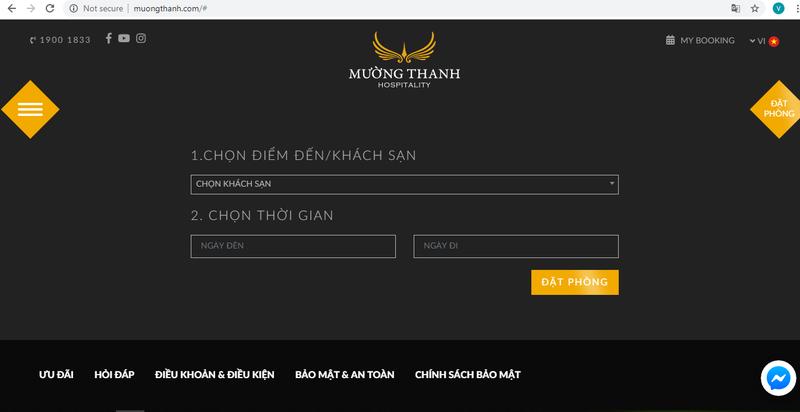 Mường Thanh Hospitality ra mắt website mới, diện mạo mới       - ảnh 3