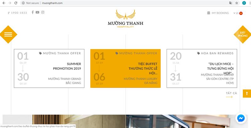 Mường Thanh Hospitality ra mắt website mới, diện mạo mới       - ảnh 4