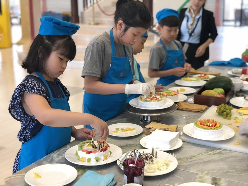 Hào hứng các lớp học kỹ năng dành cho trẻ ở Vinpearl - ảnh 1
