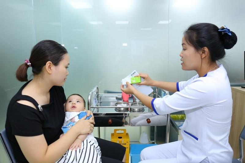 Khai trương trung tâm tiêm chủng vắcxin hàng đầu miền Bắc - ảnh 1