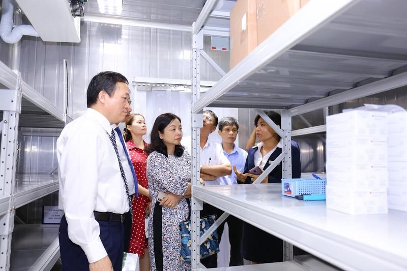 Khai trương trung tâm tiêm chủng vắcxin hàng đầu miền Bắc - ảnh 4