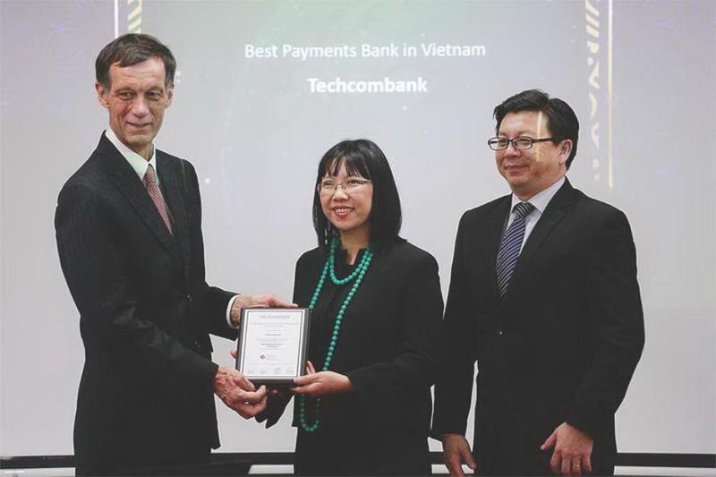 Techcombank: Ngân hàng cung cấp dịch vụ thanh toán tốt nhất - ảnh 1
