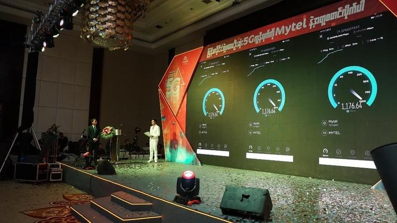 Viettel cung cấp 5G đầu tiên tại Myanmar - ảnh 2