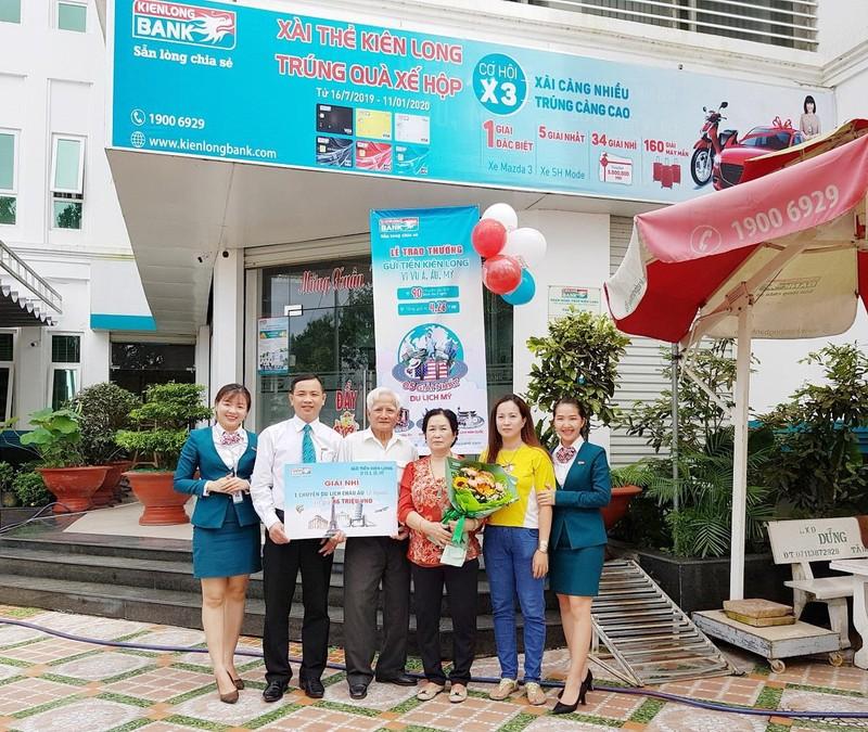 Kienlongbank trao thưởng cho 90 khách hàng  - ảnh 3