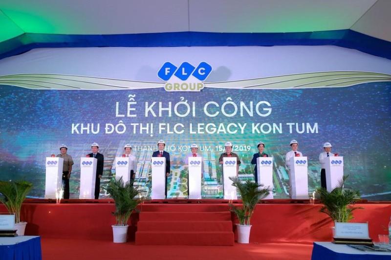 FLC chính thức khởi công dự án cao cấp tại Kon Tum - ảnh 1