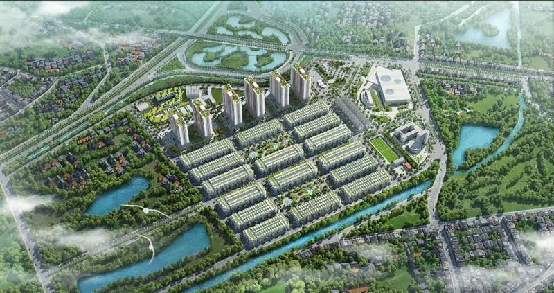 Điểm nhấn thiết kế cảnh quan của Him Lam Green Park - ảnh 1