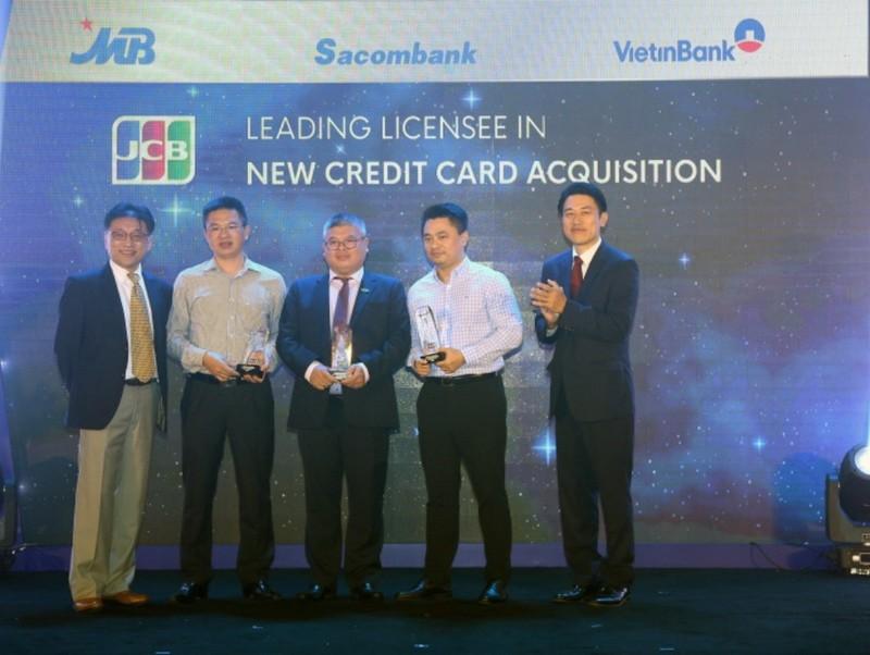 MB nhận 4 giải thưởng danh giá từ tổ chức thẻ Nhật Bản JCB  - ảnh 1