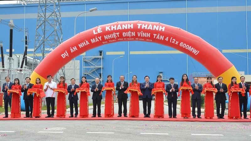 Nhà máy Nhiệt điện Vĩnh Tân 4 đảm bảo điện cho miền Nam - ảnh 1