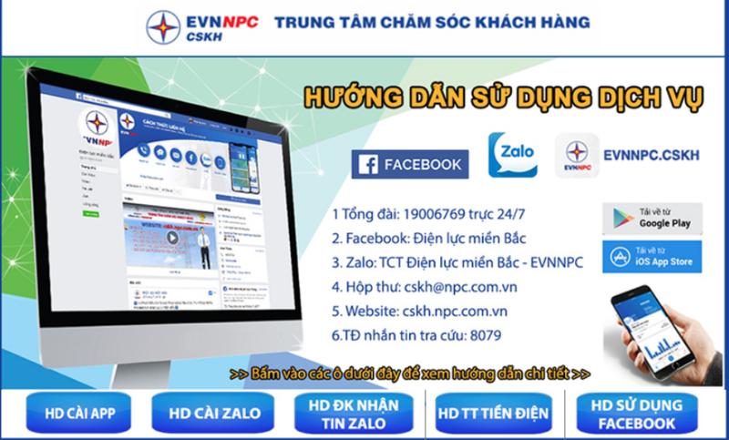 EVNNPC: Sáng tạo trong thu tiền điện không dùng tiền mặt       - ảnh 1