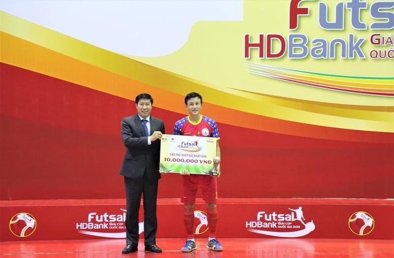 Sanvinest Sanatech Khánh Hòa vô địch giải futsal HDBank - ảnh 1