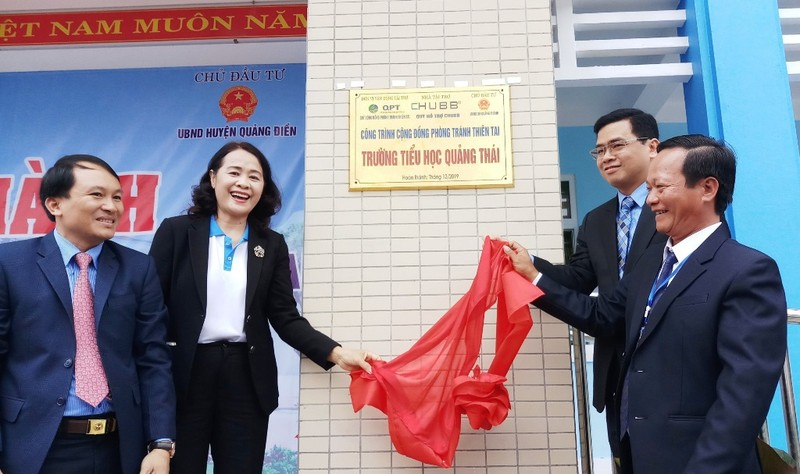 Khánh thành trường học tại Huế với tổng tài trợ 2,5 tỉ đồng - ảnh 1