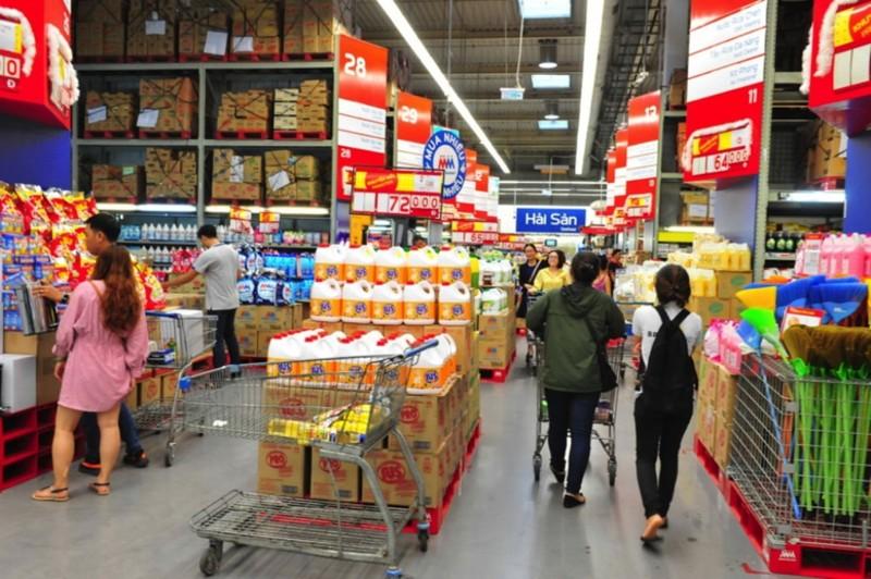 MM Mega Market tăng cường hàng hóa phục vụ mua sắm tết - ảnh 1