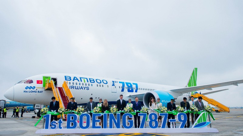 Ngắm nội thất Boeing 787-9 của Bamboo Airways - ảnh 2