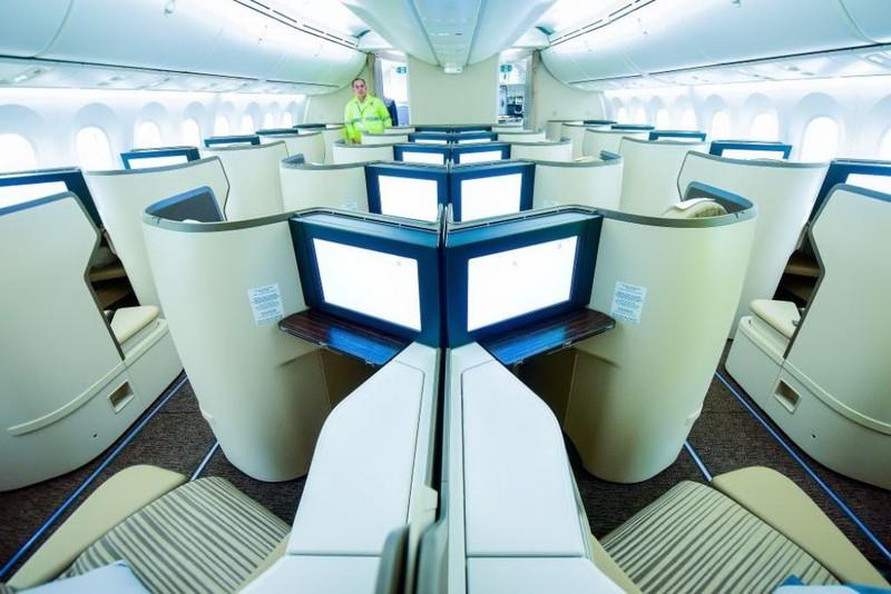Ngắm nội thất Boeing 787-9 của Bamboo Airways - ảnh 3