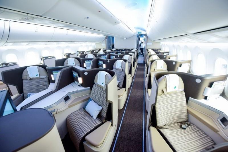 Ngắm nội thất Boeing 787-9 của Bamboo Airways - ảnh 5