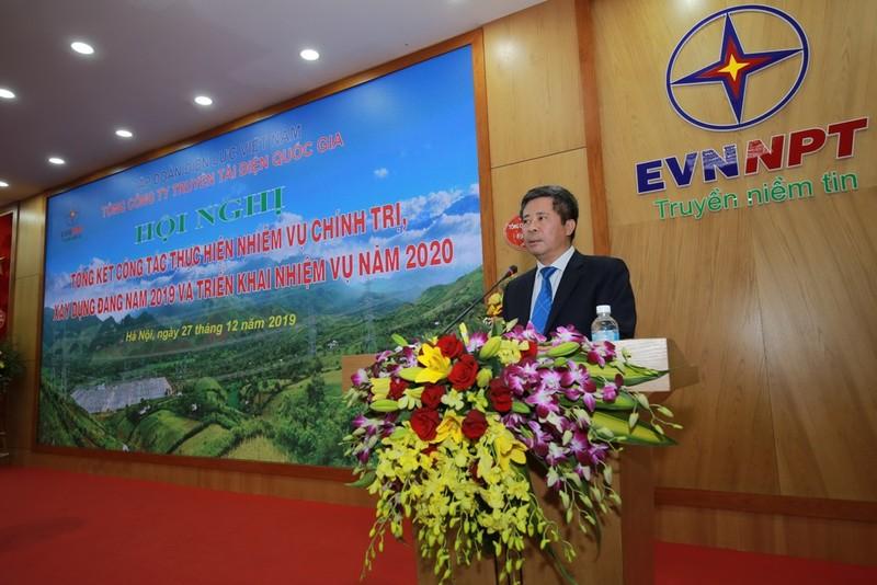 Năm 2019: EVNNPT đạt doanh thu hơn 20.000 tỉ đồng - ảnh 1