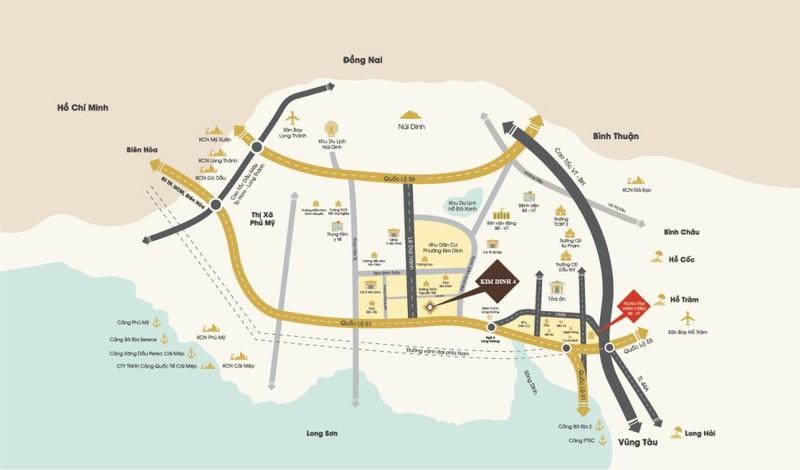Đang xem xét quy hoạch 1/500 khu nhà ở thương mại Kim Dinh     - ảnh 1