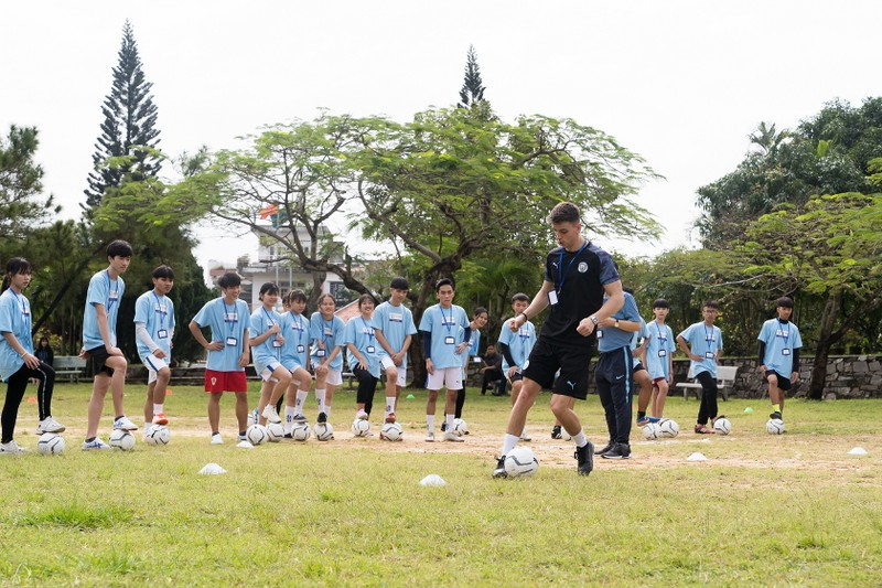 Manchester City cùng SHB chắp cánh ước mơ Việt   - ảnh 2