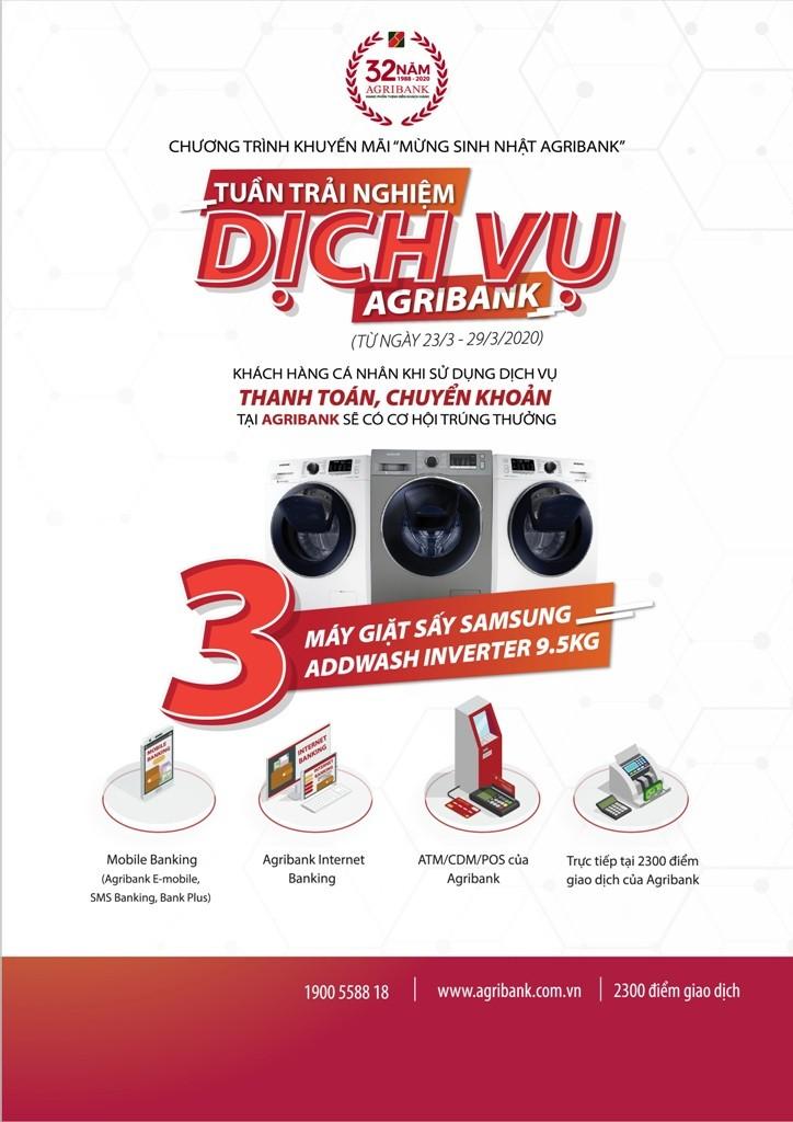 Agribank tri ân khách hàng với tổng giá trị lên đến 1 tỉ đồng - ảnh 1