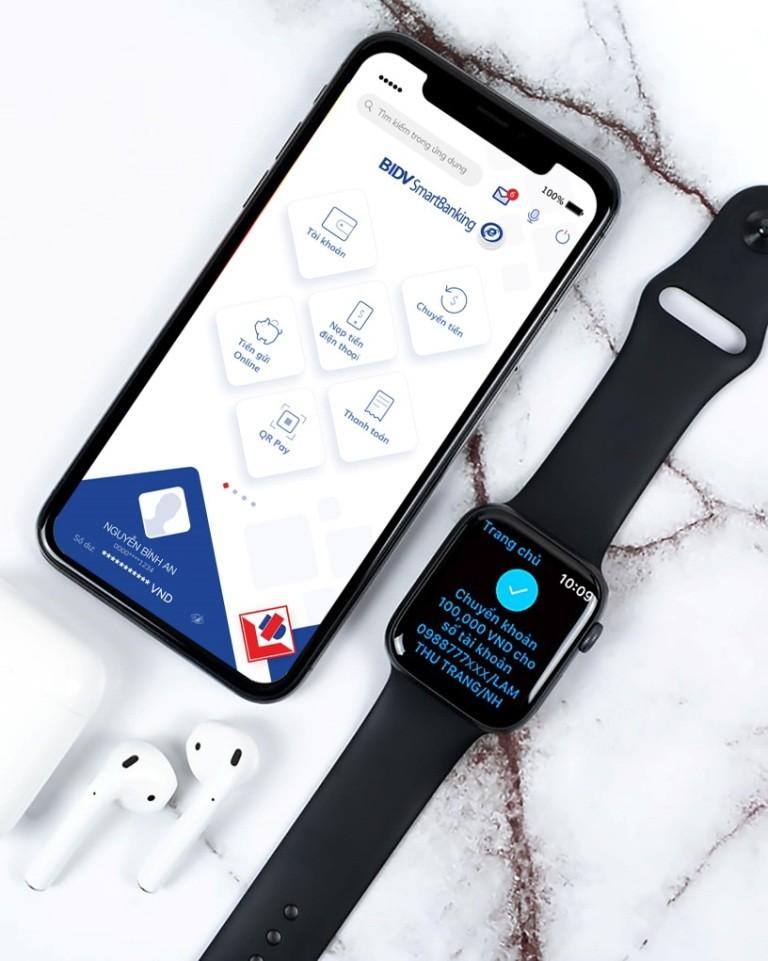 BIDV: Ứng dụng SmartBanking trên Apple Watch - ảnh 1