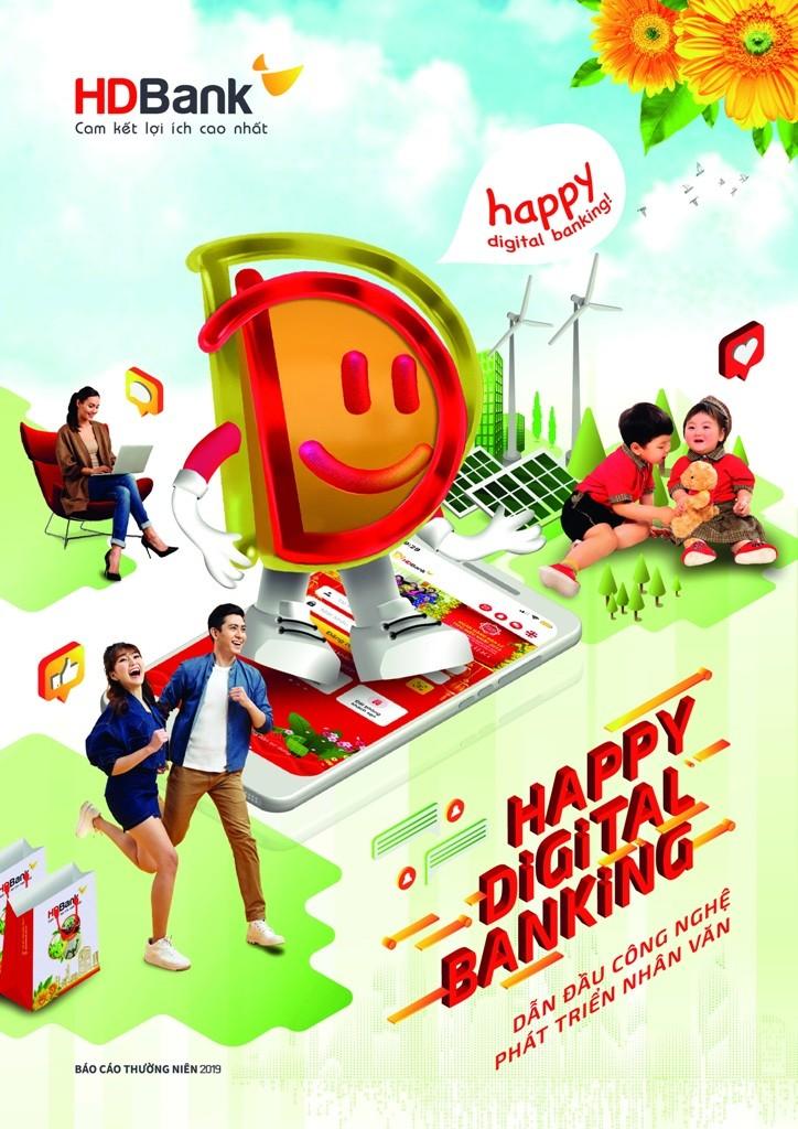 HDBank định hướng phát triển 'Happy Digital Bank' - ảnh 2