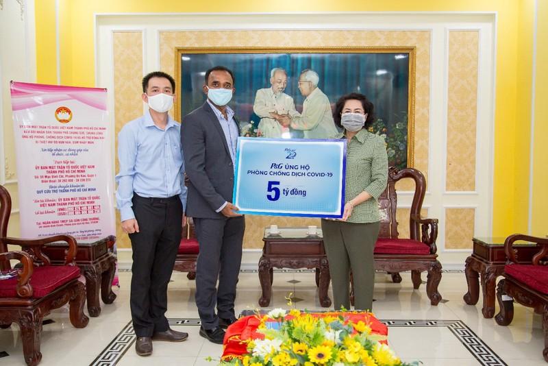 P&G Việt Nam triển khai gói tài trợ 5 tỉ đồng chống COVID-19   - ảnh 1