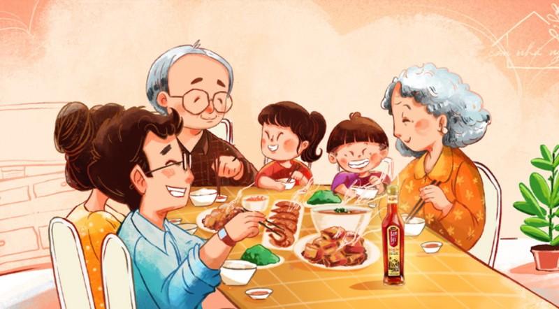 Bạn ơi, hạnh phúc nhất nhiều ngày qua là bữa cơm gia đình - ảnh 6