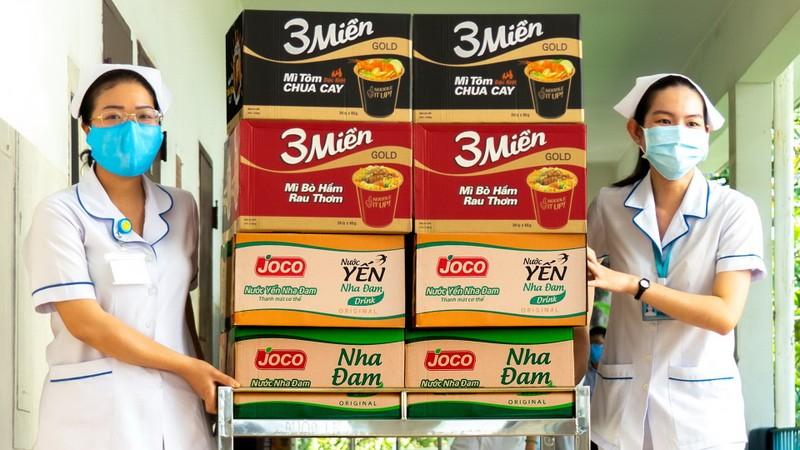 Uniben tặng 150.000 bữa ăn dinh dưỡng tới các y bác sĩ - ảnh 4