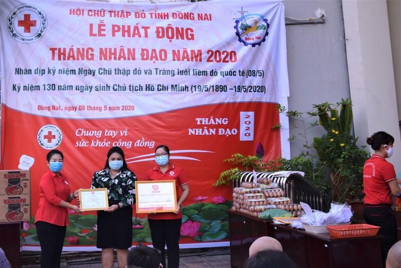 Vedan Việt Nam trao tặng 2 nhà chữ thập đỏ tại Đồng Nai     - ảnh 1