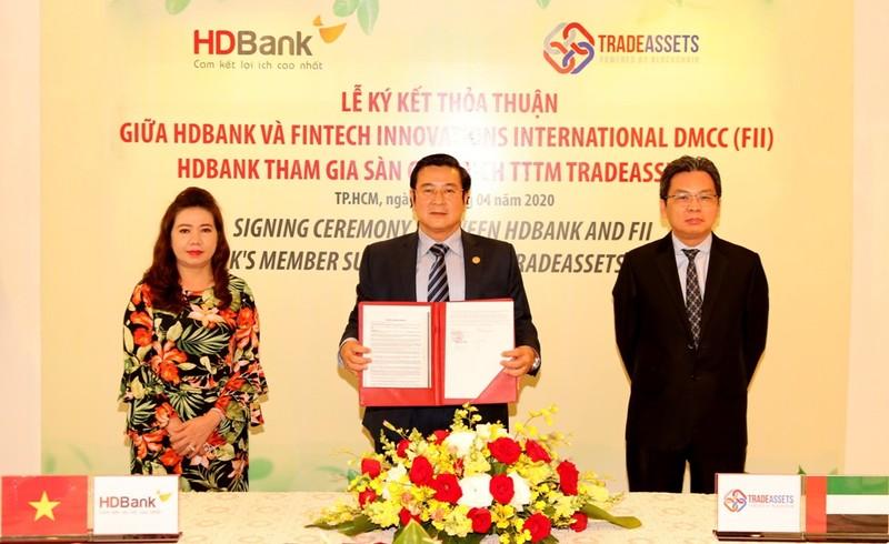 HDBank tham gia TRADEASSETS số hóa tài trợ thương mại          - ảnh 1