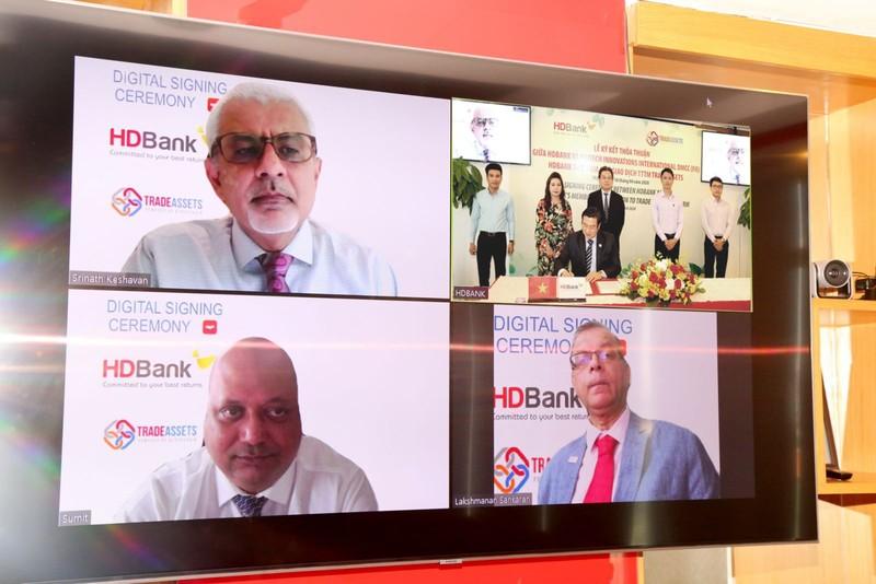 HDBank tham gia TRADEASSETS số hóa tài trợ thương mại          - ảnh 2