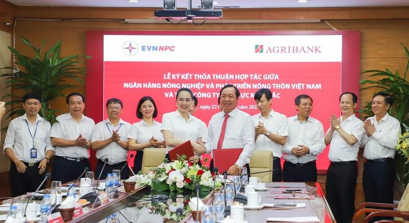 Agribank và EVNNPC nâng tầm hợp tác - ảnh 2