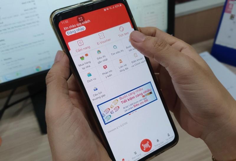 Co.opmart chăm sóc sức khỏe khách hàng qua ứng dụng di động - ảnh 1