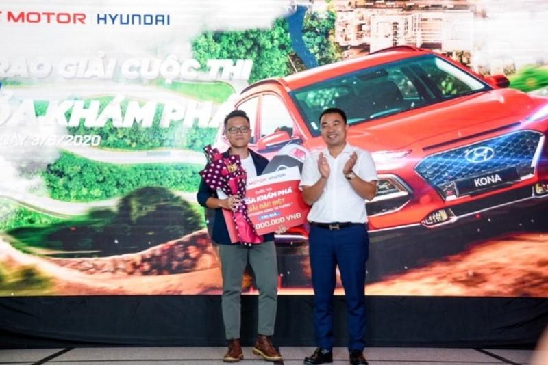 Nam thanh niên Hà Nội trúng giải xe Hyundai Kona 750 triệu     - ảnh 1