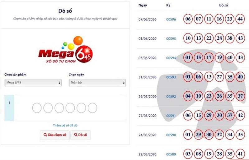Mega 6/45: Hụt Jackpot 63 tỉ, hàng chục người trúng 10 triệu   - ảnh 2