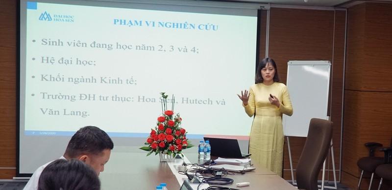 Học viên MBA ĐH Hoa Sen lập thành tích nghiên cứu ấn tượng     - ảnh 1