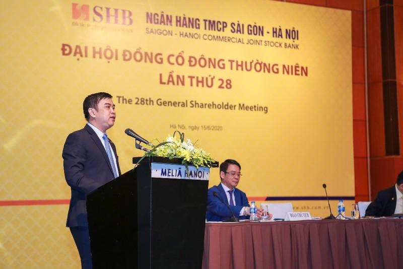 SHB: Đặt mục tiêu Top 3 ngân hàng tư nhân lớn nhất Việt Nam    - ảnh 1
