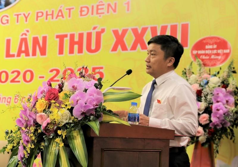 Ông Nguyễn Tiến Khoa tái đắc cử Bí thư Đảng ủy EVNGENCO1       - ảnh 1