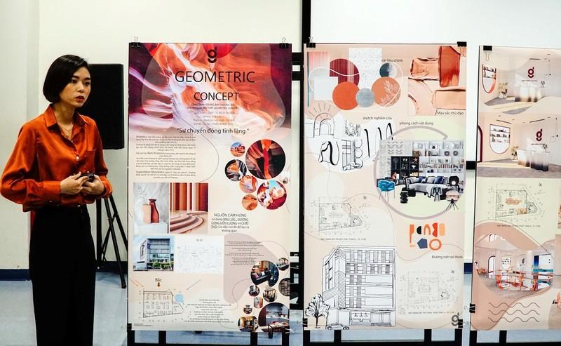 Ngành Thiết kế nội thất HSU: Phát huy năng lực bản thân - ảnh 4