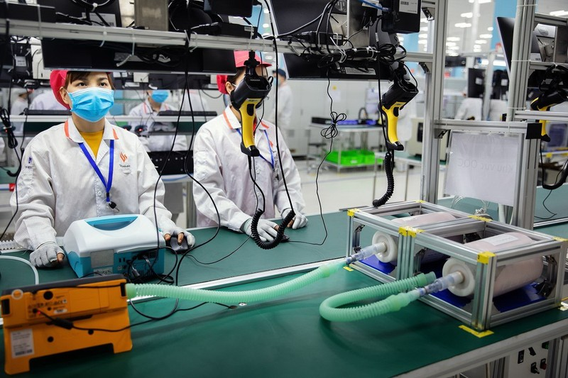 Bộ Y tế cấp số lưu hành cho máy thở Vsmart VFS-510 - ảnh 1