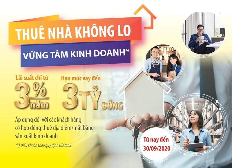 HDBank: Thuê nhà không lo, vững tâm kinh doanh - ảnh 1