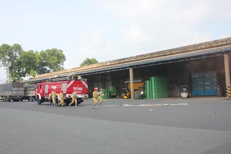 Vedan thực tập phương án chữa cháy, cứu nạn cứu hộ - ảnh 1