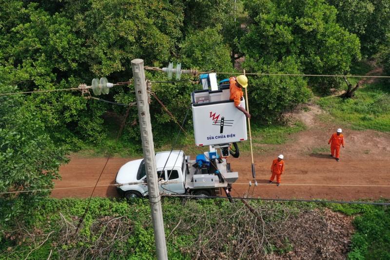 EVNSPC diễn tập phòng chống thiên tai và tìm kiếm cứu nạn - ảnh 2