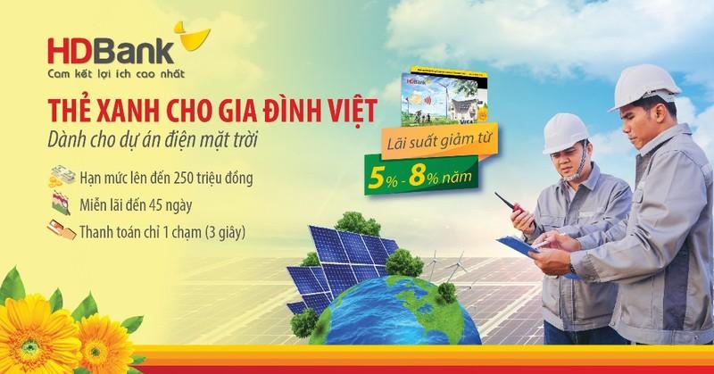 HDBank: Thẻ Xanh cho gia đình Việt - ảnh 1